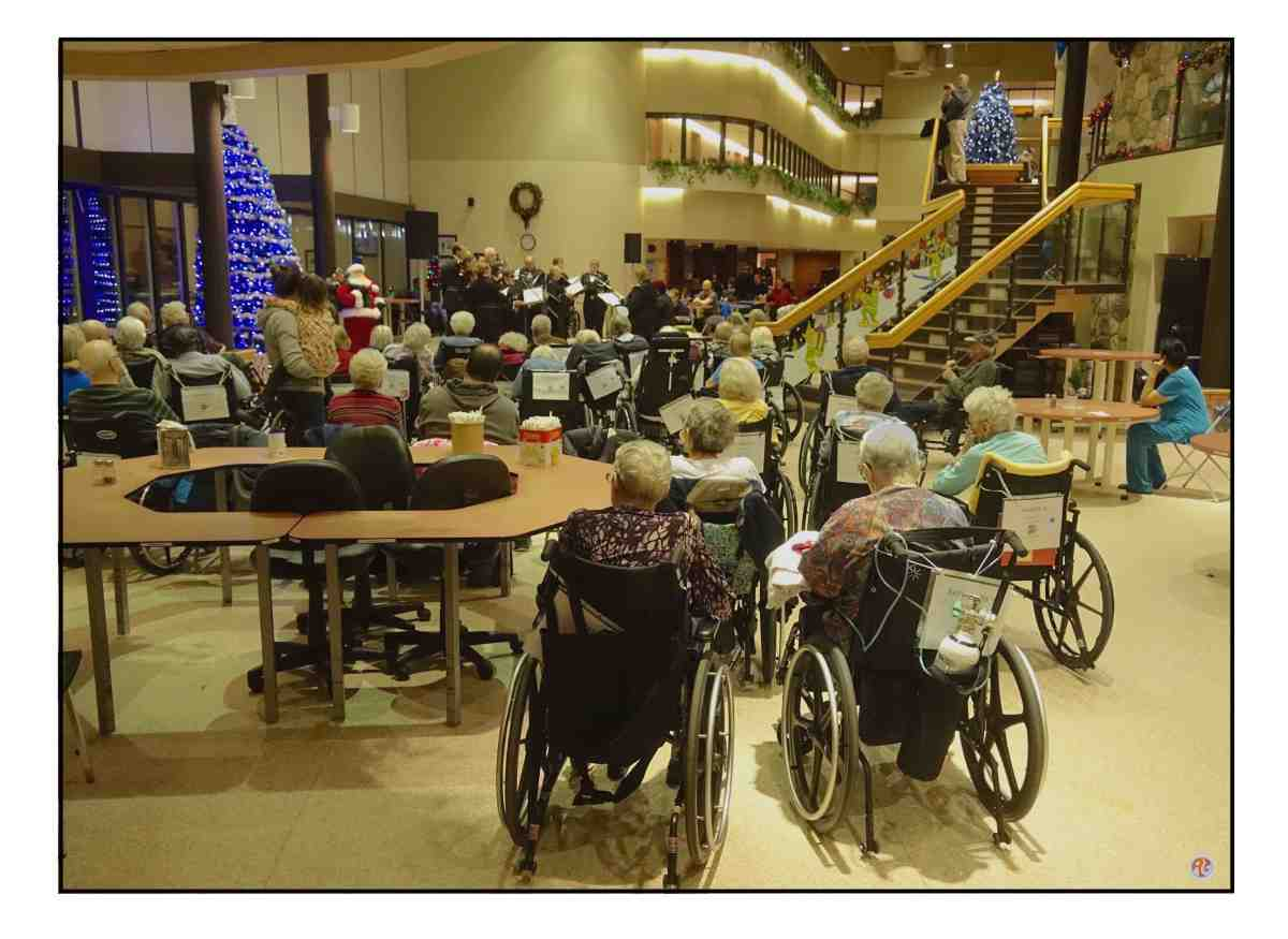 Police Christmas Choir at theLodge.