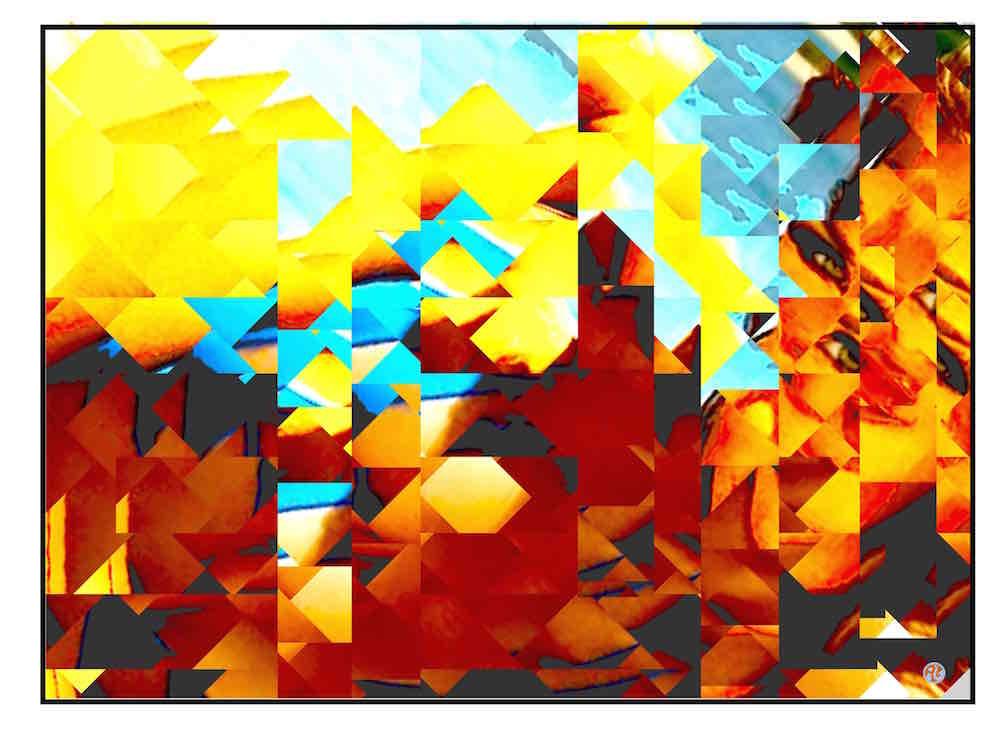the cubist look is sotrending