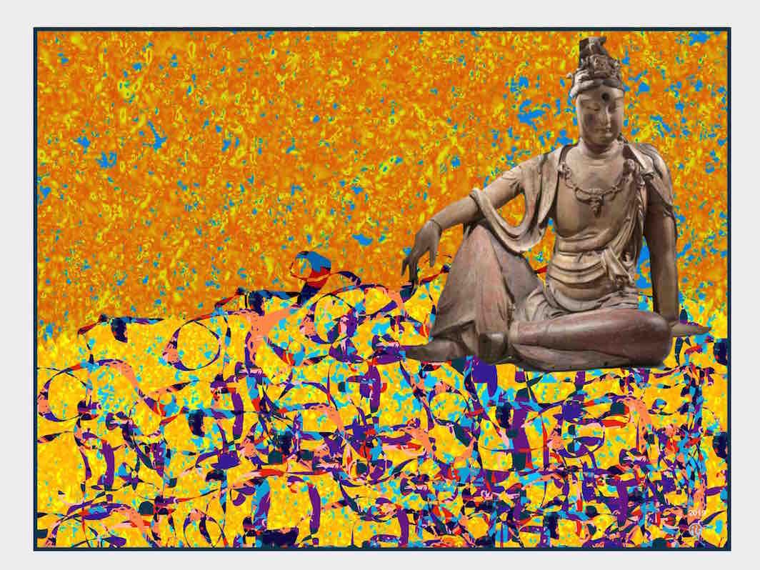 Guanyin in repose