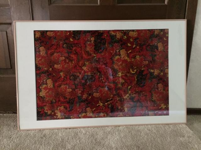 framed print  sold